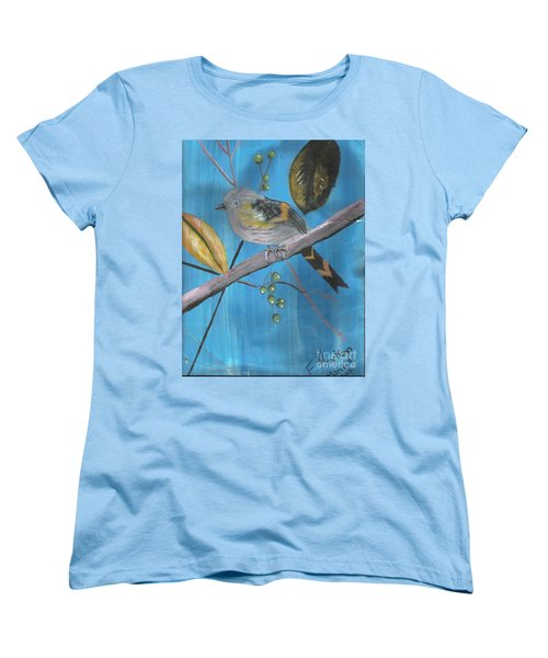 Bird On A Branch  Women's T-Shirt (Standard Cut)