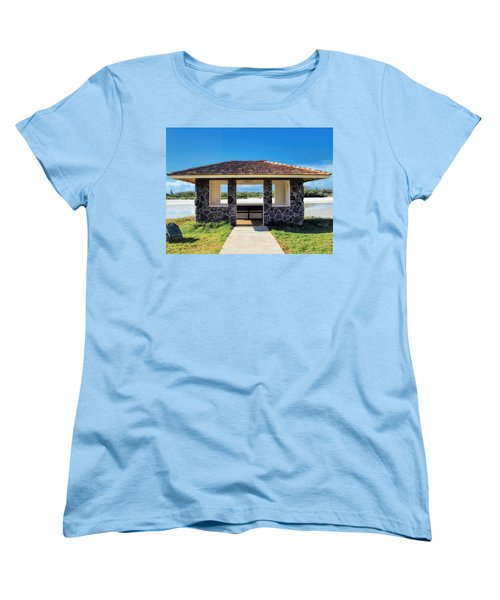 Women's T-Shirt (Standard Cut) featuring the photograph Bird Sanctuary 2 by Dawn Eshelman