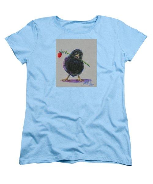 Blackbird Love Women's T-Shirt (Standard Cut) by Billie Colson