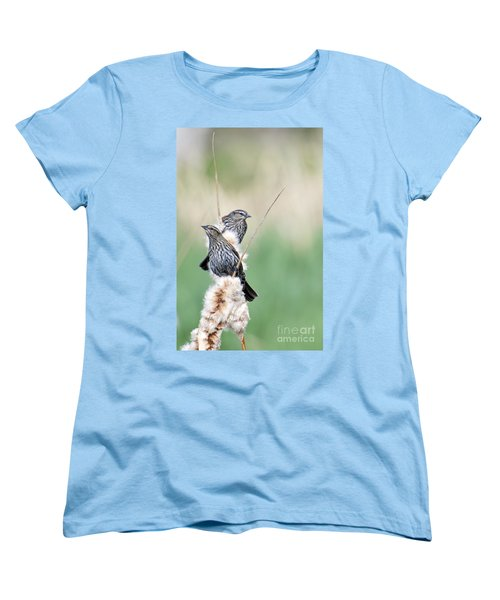 Blackbird Pair Women's T-Shirt (Standard Cut)