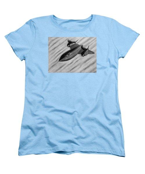 Blackbird Women's T-Shirt (Standard Cut) by Vishvesh Tadsare