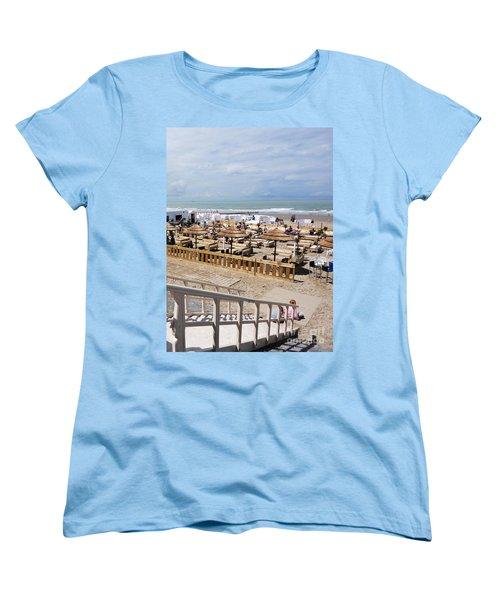 Blankenberge Beach Belgium Women's T-Shirt (Standard Cut)