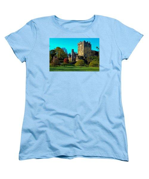 Blarney Castle - Ireland Women's T-Shirt (Standard Cut) by Marilyn Burton