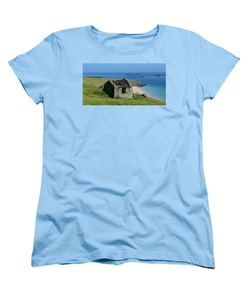 Blasket Island Women's T-Shirt (Standard Cut) by Barbara Walsh