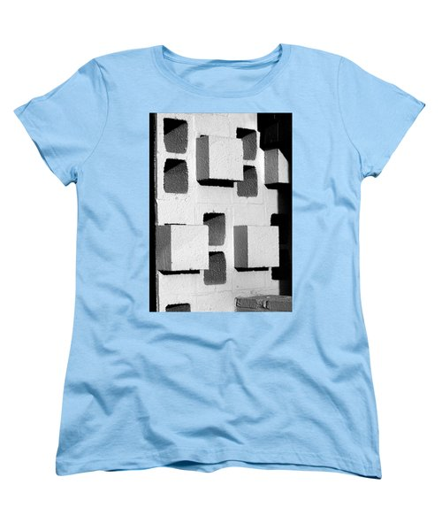 Blocks Women's T-Shirt (Standard Cut) by Jeff Brunton