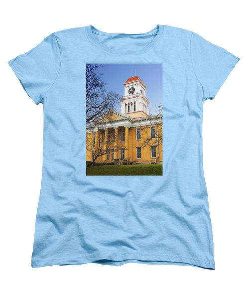 Blount County Courthouse Women's T-Shirt (Standard Cut) by Melinda Fawver