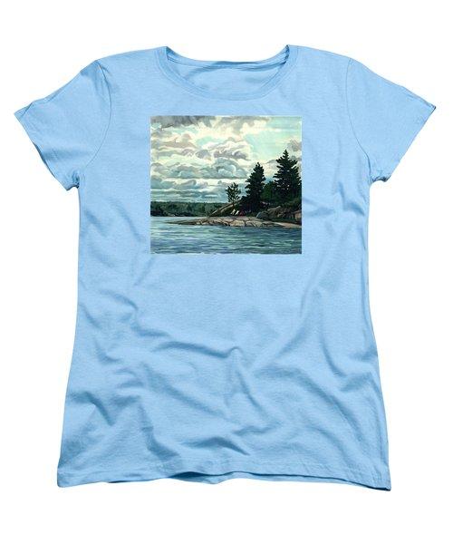 Blow Me Away Women's T-Shirt (Standard Cut) by Phil Chadwick