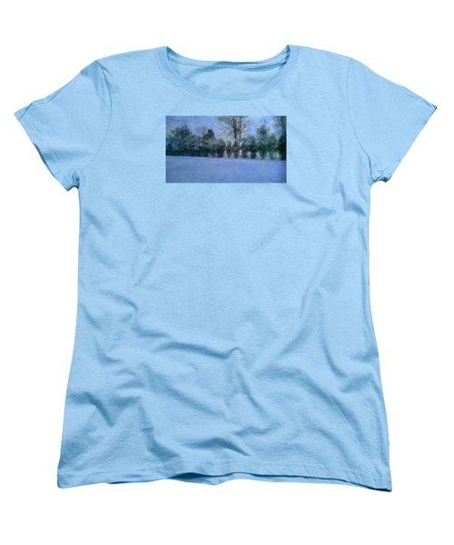 Blue Dawn Women's T-Shirt (Standard Cut) by RC deWinter