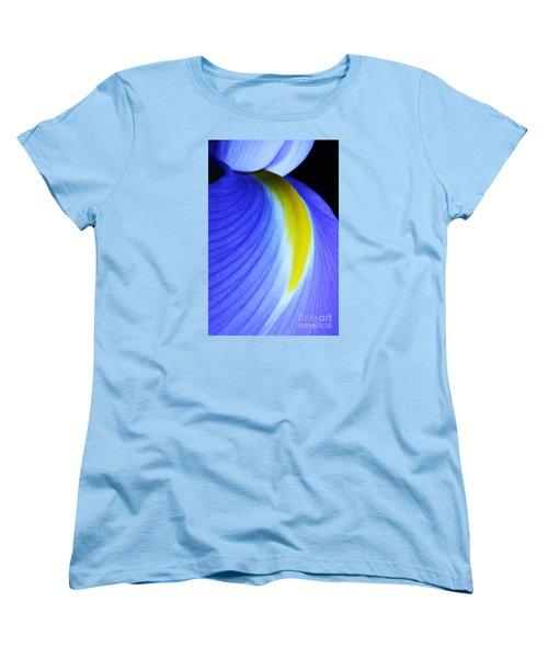 Women's T-Shirt (Standard Cut) featuring the photograph Blue by Judy Whitton