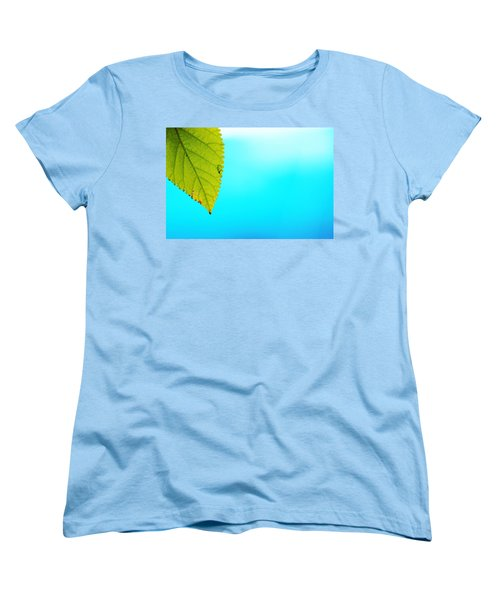 Blue Lagoon Women's T-Shirt (Standard Cut) by Prakash Ghai