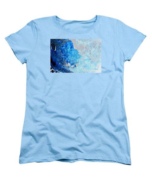 Women's T-Shirt (Standard Cut) featuring the photograph Blue Rust by Randi Grace Nilsberg