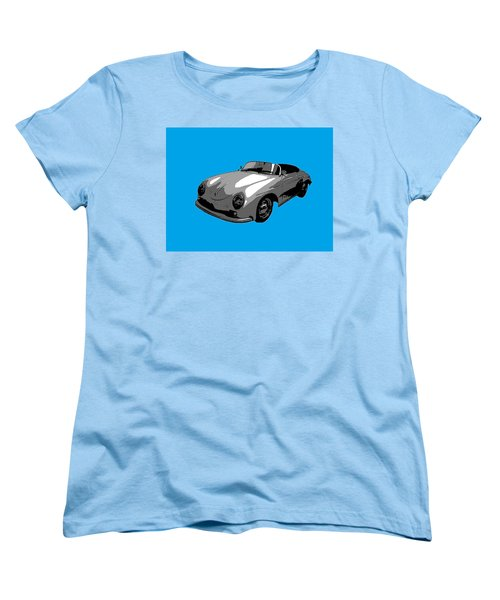 Women's T-Shirt (Standard Cut) featuring the photograph Blue Speedster by J Anthony