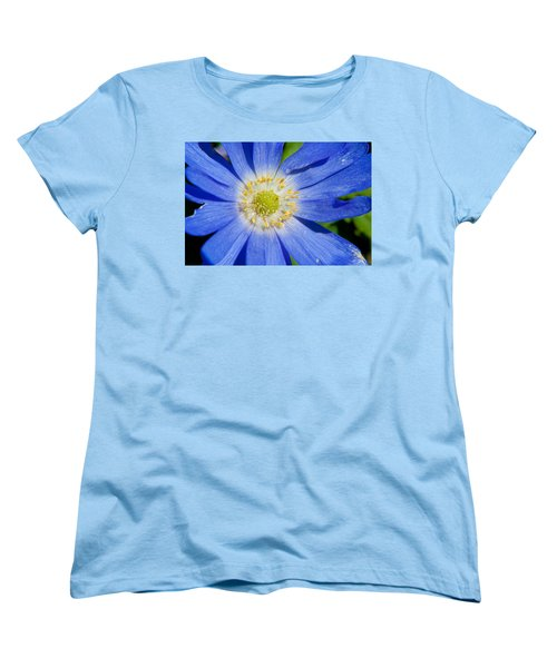Blue Swan River Daisy Women's T-Shirt (Standard Cut) by Tikvah's Hope