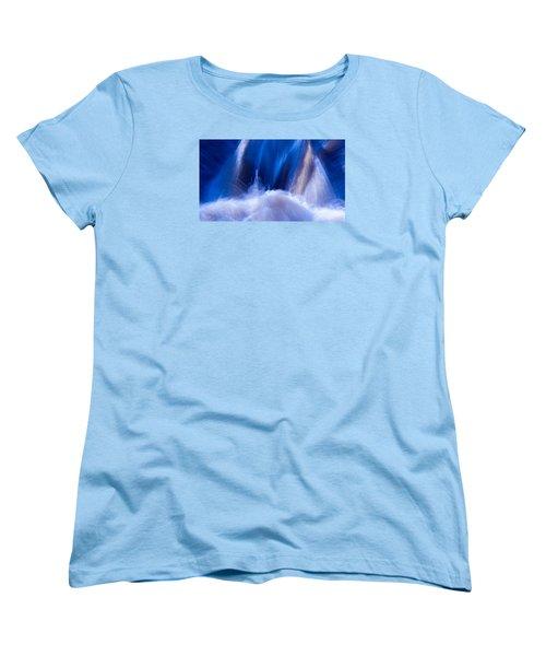 Blue Water Women's T-Shirt (Standard Cut) by Torbjorn Swenelius
