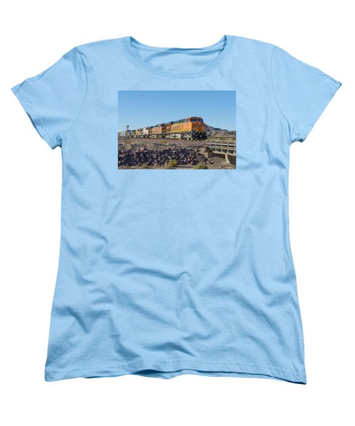 Bnsf 7649 Women's T-Shirt (Standard Cut) by Jim Thompson