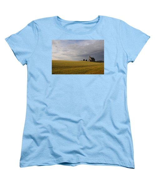 Boarhills Church Women's T-Shirt (Standard Cut) by Jeremy Voisey