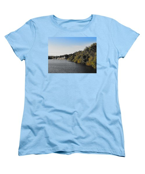 Boathouse II Women's T-Shirt (Standard Cut) by Photographic Arts And Design Studio