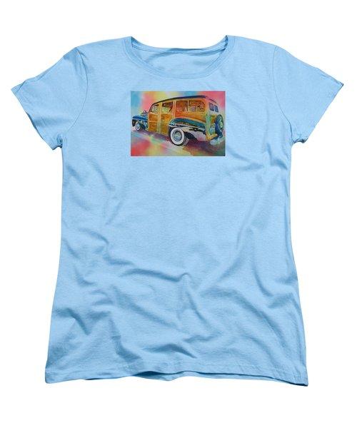 Boca Classic 42 Woody Women's T-Shirt (Standard Cut) by Tara Moorman