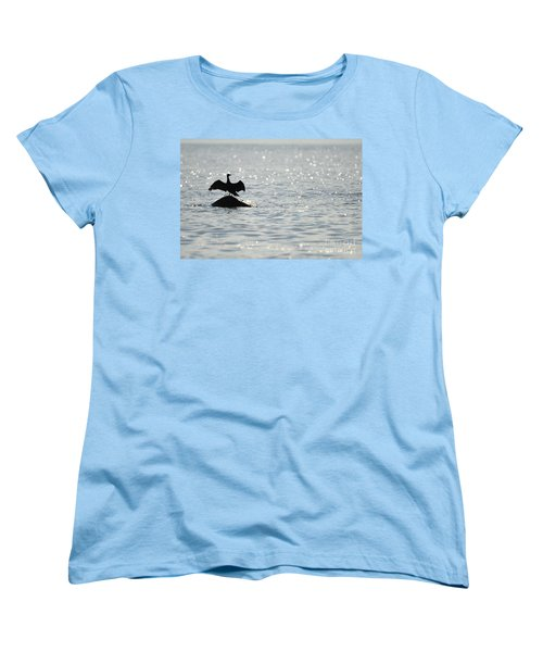 Women's T-Shirt (Standard Cut) featuring the photograph Bokeh by Randi Grace Nilsberg