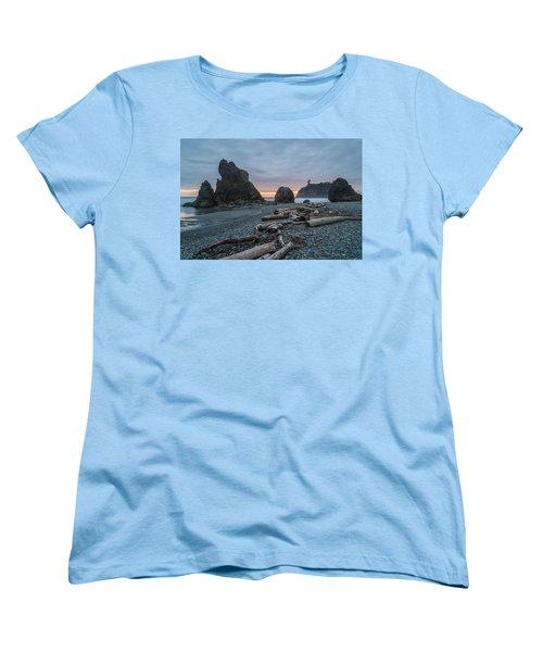 Bone Yard Women's T-Shirt (Standard Cut) by Kristopher Schoenleber