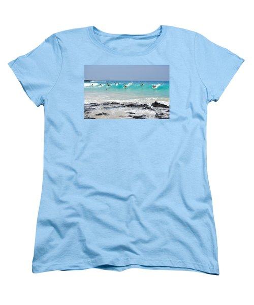 Boogie Up Women's T-Shirt (Standard Cut) by Denise Bird