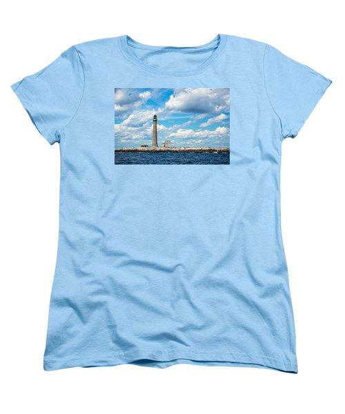 Boon Island Light Station Women's T-Shirt (Standard Cut) by James  Meyer