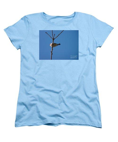 Women's T-Shirt (Standard Cut) featuring the photograph Bottoms Up by Meghan at FireBonnet Art
