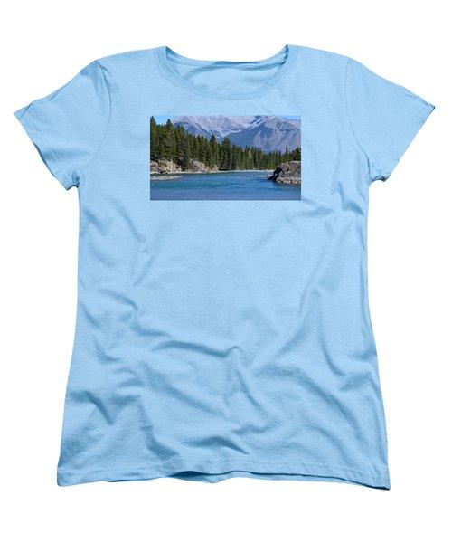Bow River  Women's T-Shirt (Standard Cut) by Cheryl Miller