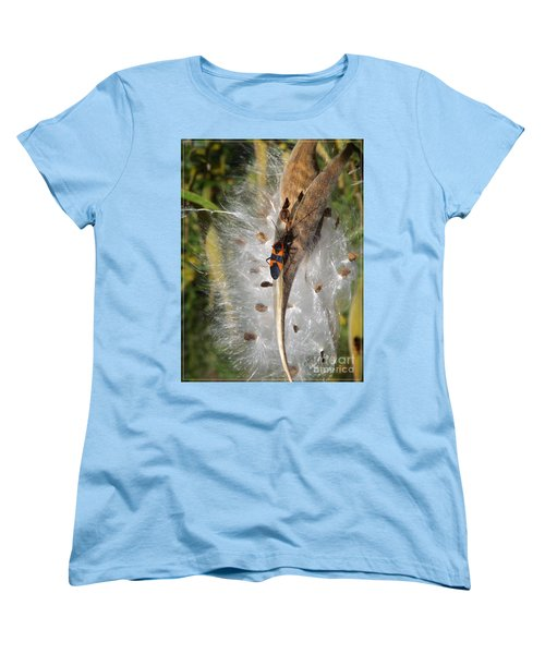Boxelder On Butterfly Milkweed 2 Women's T-Shirt (Standard Cut) by Sara  Raber