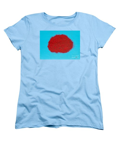 Brain Red Women's T-Shirt (Standard Cut) by Stefanie Forck