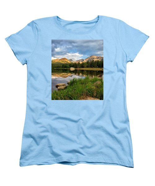Brainard Lake Reflections Women's T-Shirt (Standard Cut) by Ronda Kimbrow