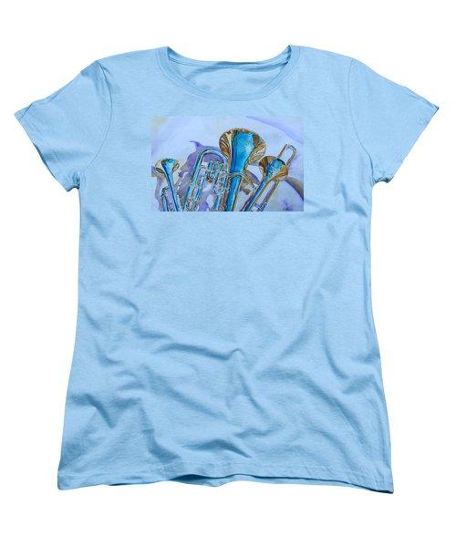 Brass Candy Trio Women's T-Shirt (Standard Cut) by Jenny Armitage