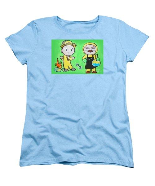 Breaking Bad Broken Women's T-Shirt (Standard Cut) by Marisela Mungia