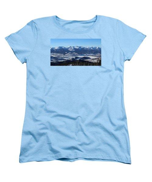 Breathtaking View Women's T-Shirt (Standard Cut) by Fiona Kennard
