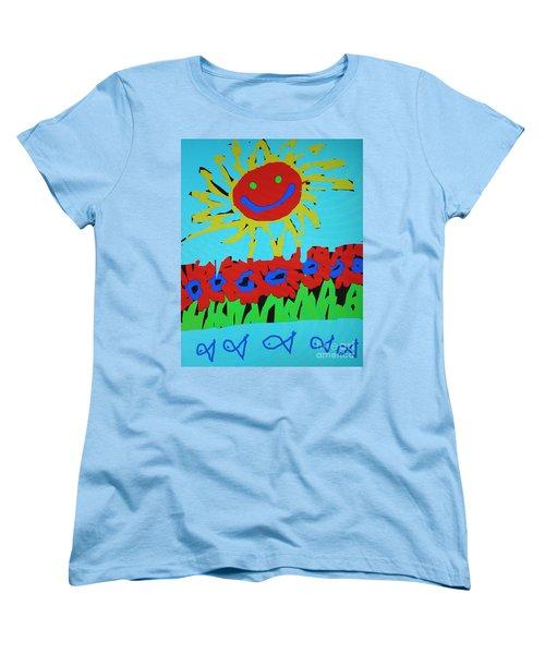 Brians Art Women's T-Shirt (Standard Cut) by Douglas Stucky