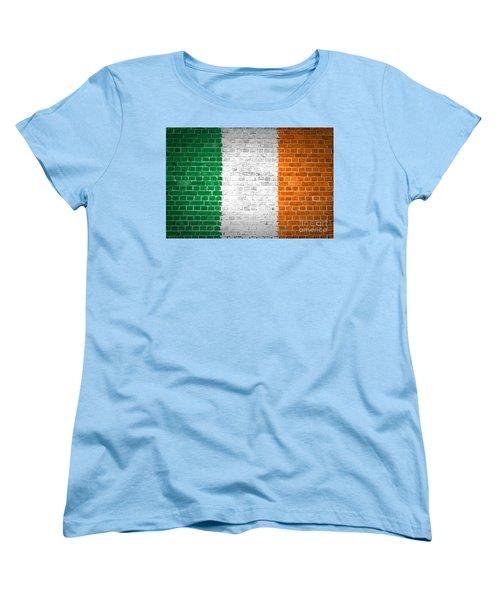 Brick Wall Ireland Women's T-Shirt (Standard Cut) by Antony McAulay