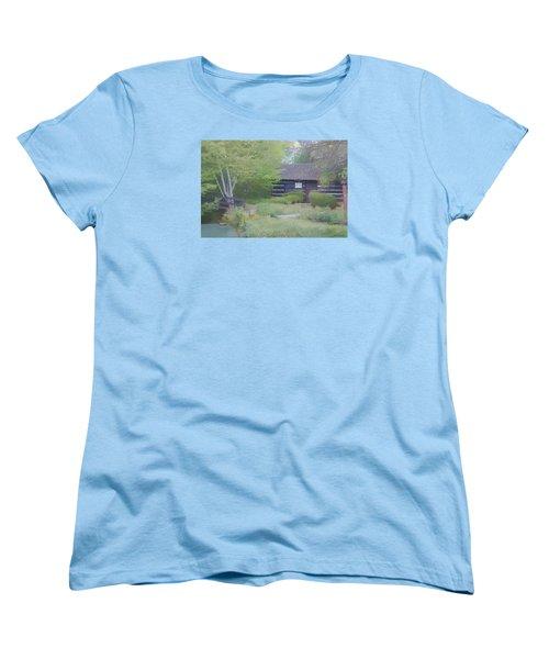 Bridge To Harmony Women's T-Shirt (Standard Cut) by Debra     Vatalaro