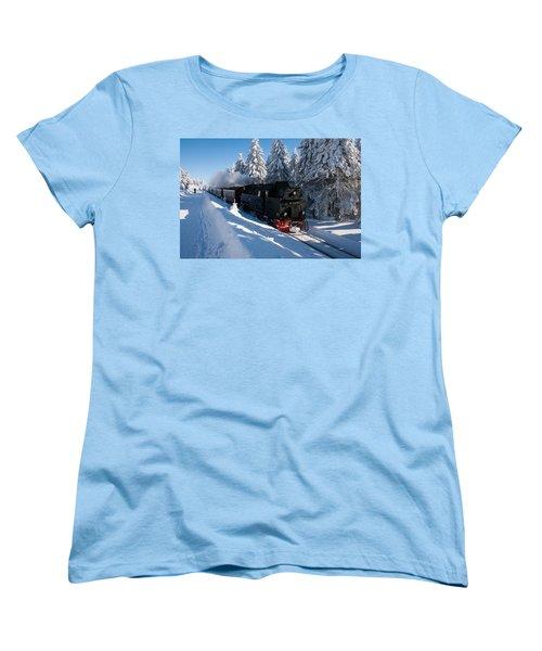 Brockenbahn Women's T-Shirt (Standard Cut) by Andreas Levi