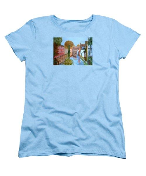 Brugge Canal Women's T-Shirt (Standard Cut)