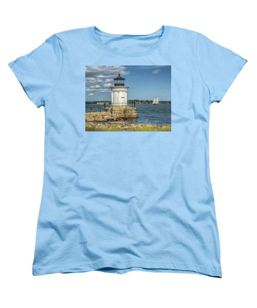 Women's T-Shirt (Standard Cut) featuring the photograph Bug Light by Jane Luxton