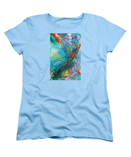 Busting Out Women's T-Shirt (Standard Cut) by Becky Chappell