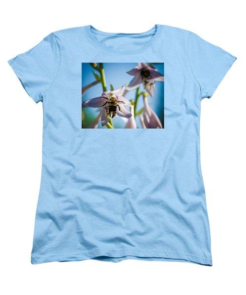 Busy Bee Women's T-Shirt (Standard Cut) by Brian Caldwell