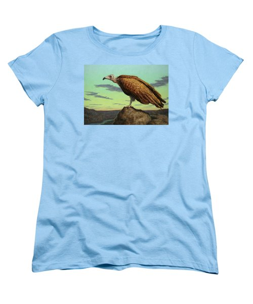 Buzzard Rock Women's T-Shirt (Standard Cut) by James W Johnson