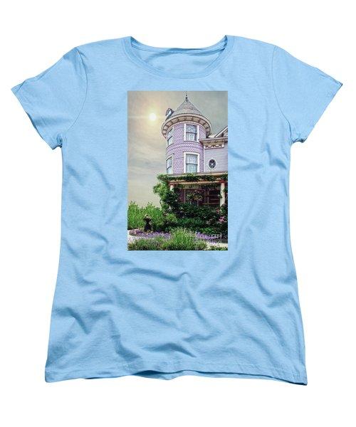 By The Seaside Women's T-Shirt (Standard Cut) by Debra Fedchin