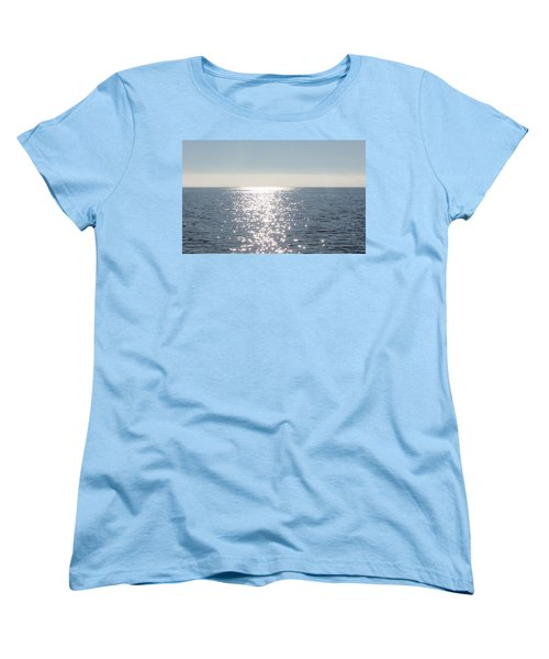 Calm Waters Women's T-Shirt (Standard Cut) by Fortunate Findings Shirley Dickerson
