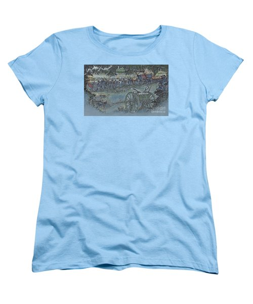Canister Wait Women's T-Shirt (Standard Cut) by Scott and Dixie Wiley
