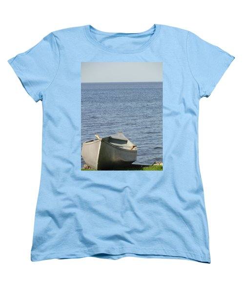 Women's T-Shirt (Standard Cut) featuring the photograph Canoe by Tiffany Erdman