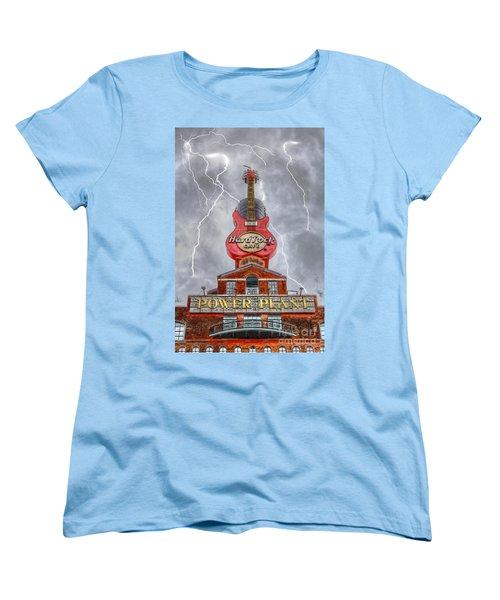 Can't Stop The Rock Women's T-Shirt (Standard Cut) by Dan Stone