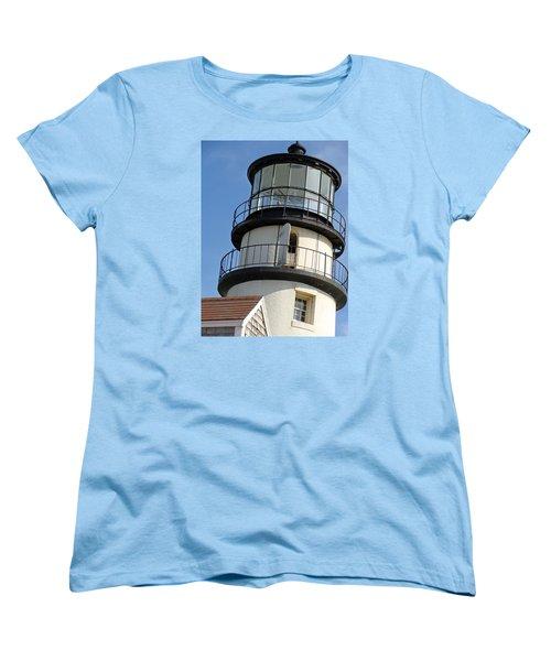 Women's T-Shirt (Standard Cut) featuring the photograph Cape Cod Lighthouse by Ira Shander