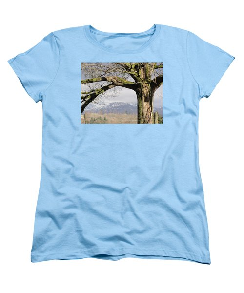 Women's T-Shirt (Standard Cut) featuring the photograph Capture The Moment by Tiffany Erdman
